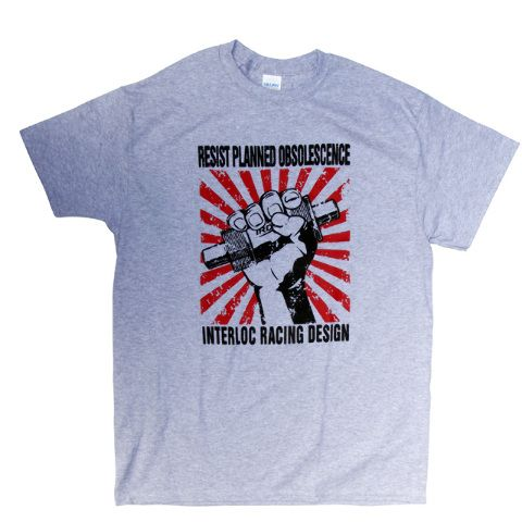 IRD T-Shirt Resist Heather Gray