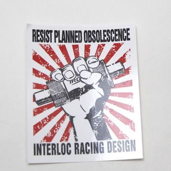 IRD Resist Sticker